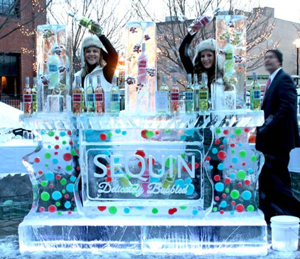 Brilliant Ice - Ice Bar - Sequin