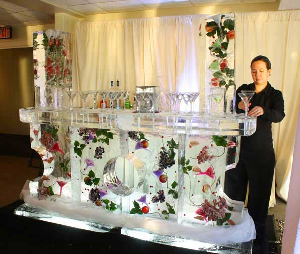 Brilliant Ice - Ice Bar with Fruit