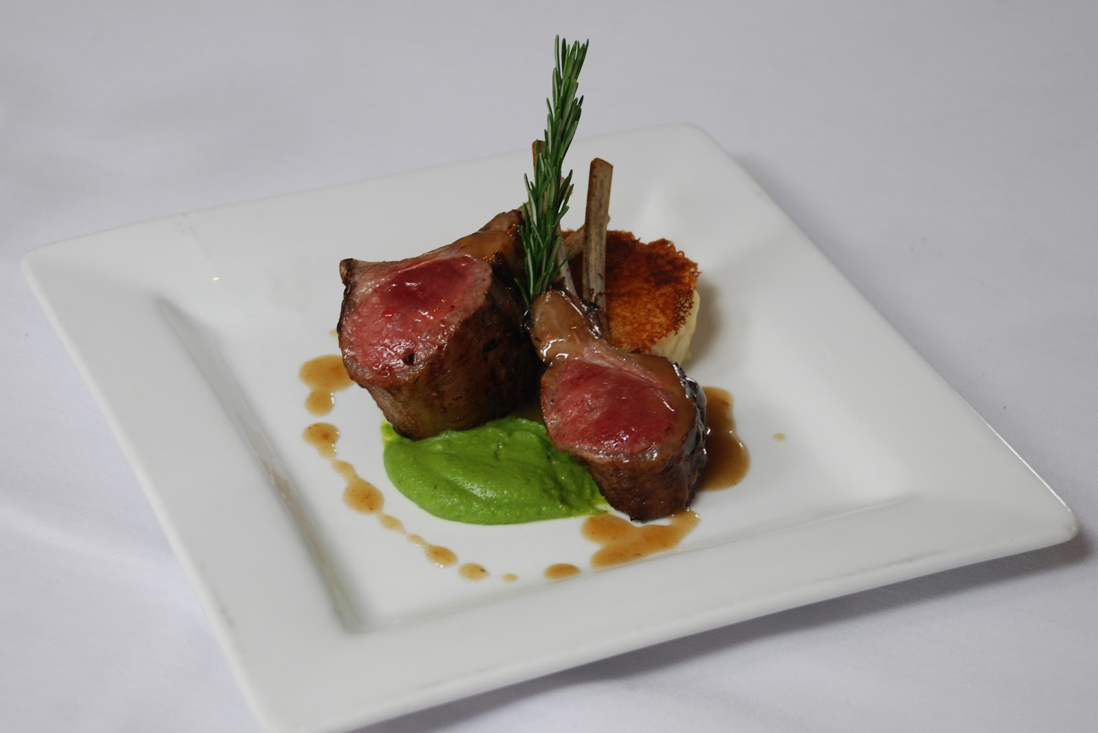 Roasted New Zealand Rack of Lamb