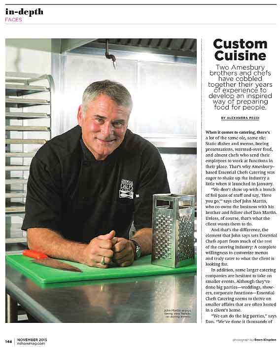 Northshore Magazine 2015 Food Issue - Page 1