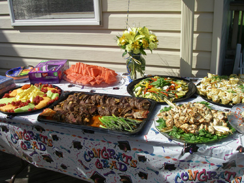 graduation party tips and ideas essential chefs catering